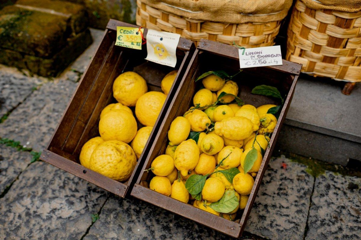 cytryny targ sprzedaż